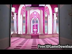 Beautiful 3d cartoon pink palace where you can take your favorite characters and have awesome fuck sessions
