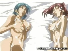 Hentai Futanari with 2 Cocks!