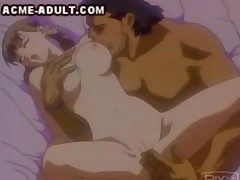 A muscular older man is having his way with a petite young schoolgirl. He licks her big tits and pussy, and then shoves his shaved dick into her tiny pussy until he cums in her