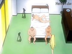 Hentai Teen  in Gang Bang Hard Fuck