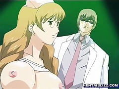 Bondage hentai nurse with bigtits having sex with doctor