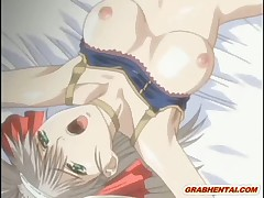 Hentai girl caught and brutally groupfucked by bandits