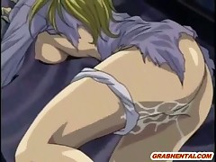 Caught hentai coed hard fucked in the forest