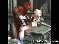 Demons Fuck 3D Elf Girls!