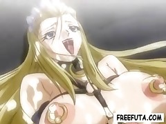 Yummy big-breasted hentai housemaids get some brutal and nasty sex