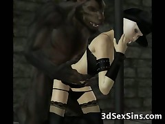 Creatures From Hell Fuck 3D Babes!